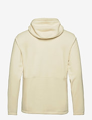 The North Face - M BLOCKED FZ HD - mid layer jackets - vintage white-utility brown - 1