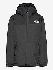 The North Face - B WARM STORM RAIN JACKET - jassen - asphalt grey heather - 0