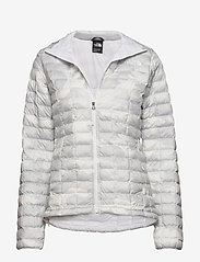 The North Face - W THERMOBALL ECO JAC - insulated jackets - tnf white waxed - 0