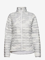 The North Face - W THERMOBALL ECO JAC - insulated jackets - tnf white waxed - 1