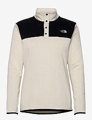 The North Face - W TKA GLCR SNPO - fleece - vintage white - tnf black - 0