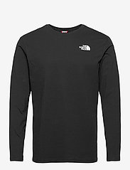 The North Face - M L/S RED BOX TEE - t-shirts à manches longues - tnf black - 0