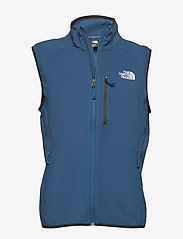 The North Face - M NIMBLE VEST - EU - softshell jassen - blue wing teal - 0