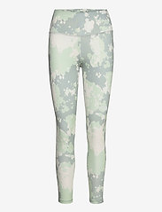 The North Face - W FLEX HR 7/8 TIGHT - løbe- og træningstights - wrought iron surreal sky print - 0