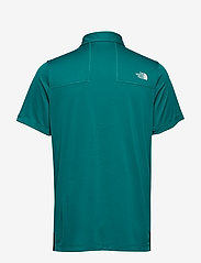 The North Face - M GLACIER S/S POLO - paidat - fanfare green - 1