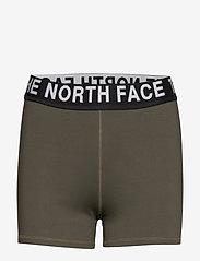 The North Face - W ESSEN SHORTYSHORT - spodenki treningowe - new taupe green - 0