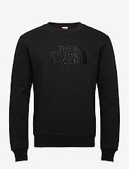 The North Face - M DREW PEAK CREW - sweats - tnf black - 0