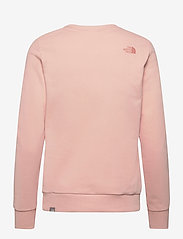 The North Face - W PUD CREW - sweatshirts - evening sand pink - 1