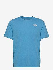 The North Face - M BRIDGER S/S - t-shirts - meridian blue heather - 0