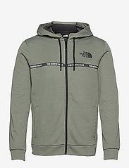 The North Face - M MA OVERLAY JKT - vestes d'extérieur et de pluie - agave green - 0