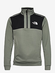 The North Face - M MA 1/2 ZIP - half zip-trøjer - agave green - 0