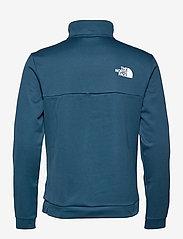 The North Face - M MA 1/2 ZIP - pulls demi-zip - monterey blue - 1