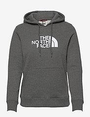 The North Face - W DREW PEAK PULL HD - hættetrøjer - tnf medium grey heather - 0