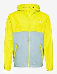 The North Face - M CYCLONE JACKET - vestes et manteaux - sulphur spring green-tourmaline blue - 0