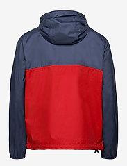 The North Face - M CYCLONE ANORAK - vestes d'extérieur et de pluie - vintage indigo-rococco red - 1
