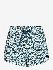 The North Face - W CLASS V MINI SHORT - wandel korte broek - monterey blue ashbury floral print - 0