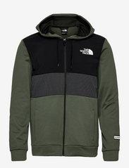 The North Face - M MA OVERLAY JKT - EU - vestes d'extérieur et de pluie - thyme - 0