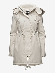 The North Face - W ZANECK PARKA - insulated jackets - vintage white - 0