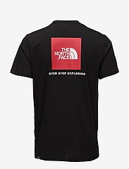 The North Face - M S/S RED BOX TEE - t-shirts - tnf black - 1
