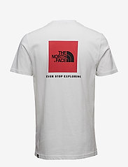 The North Face - M S/S RED BOX TEE - t-shirts - tnf white - 1
