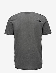 The North Face - M S/S EASY TEE - t-shirts à manches courtes - tnf medium grey heather (std) - 1