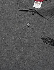 The North Face - M POLO PIQUET - polos à manches courtes - tnf medium grey heather (std)-tnf black - 2