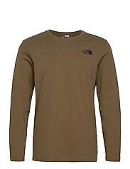M L/S EASY TEE - MILITARY OLIVE