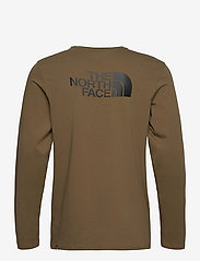 The North Face - M L/S EASY TEE - t-shirts à manches longues - military olive - 2