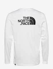 The North Face - M L/S EASY TEE - t-shirts à manches longues - tnf white - 1