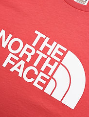 The North Face - M S/S EASY TEE - t-shirts à manches courtes - rococco red - 2
