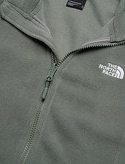 The North Face - W 100 GLACIER FULL ZIP - EU - fleece - agave green - 3