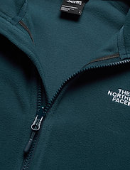 The North Face - W 100 GLACIER FULL ZIP - EU - mellomlag i fleece - blue wing teal - 2