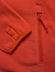 The North Face - W 100 GLACIER FULL ZIP - EU - fleece midlayer - cayenne red - 3