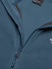 The North Face - W 100 GLACIER FULL ZIP - EU - fleece - monterey blue - 3