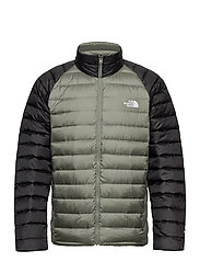 M TREVAIL JACKET - AGAVE GREEN-TNF BLACK