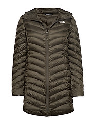 W TREVAIL PARKA - NEW TAUPE GREEN