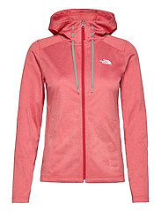 W TECH MEZZALUNA HOODIE - EU - HORIZON RED HEATHER