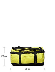 The North Face - BASE CAMP DUFFEL - S - salilaukut - sulphur spring green-tnf black - 6