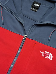 The North Face - M BLOCKED FZ HD - mid layer jackets - vintage indigo-rococco red - 2