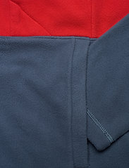 The North Face - M BLOCKED FZ HD - mid layer jackets - vintage indigo-rococco red - 3