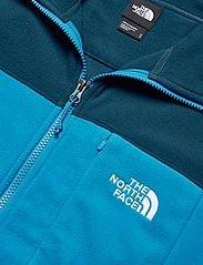 The North Face - M BLOCKED 1/4 ZIP - mittlere lage aus fleece - bluwgtl/clrlkbl - 2
