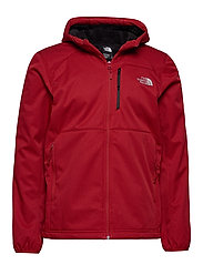 M QUEST HOODED SOFTS - CARDINAL RED HE
