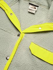 The North Face - W CRAGMONT FLC JKT - fleece - wrought iron-sulphur spring green - 3