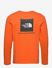 The North Face - M L/S RED BOX TEE - t-shirts à manches longues - flame - 2