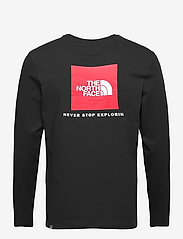 The North Face - M L/S RED BOX TEE - t-shirts à manches longues - tnf black - 1
