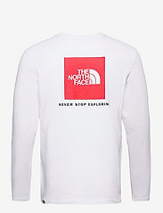 The North Face - M L/S RED BOX TEE - t-shirts à manches longues - tnf white - 2