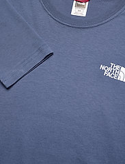 The North Face - M L/S RED BOX TEE - t-shirts à manches longues - vintage indigo - 2