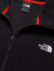 The North Face - M TKAGLCR FZJKT - mittlere lage aus fleece - fieryrd/tnfblk - 2
