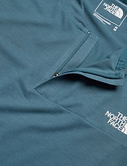 The North Face - M AT POLO - urheilutopit - mallard blue - 2