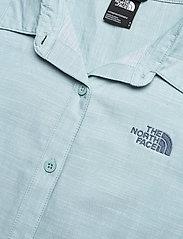 The North Face - W BERNINA DRESS - sommerkjoler - tourmaline blue chambray - 2